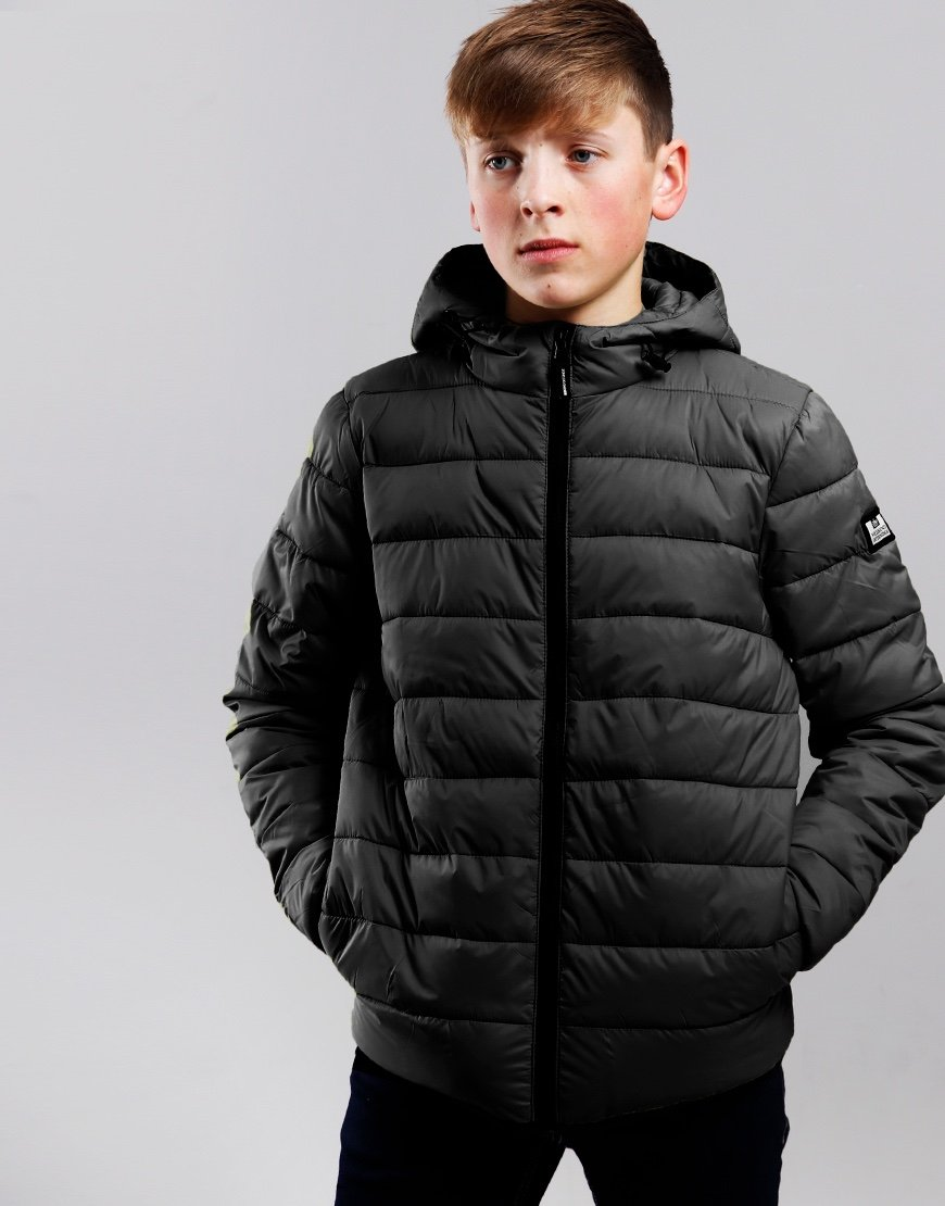 Weekend Offender Kids Frazier Jacket Black