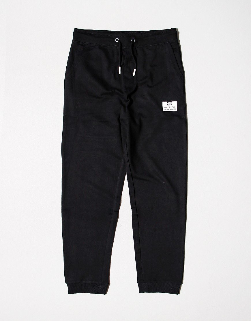 Weekend Offender Kids Jog Pant Black