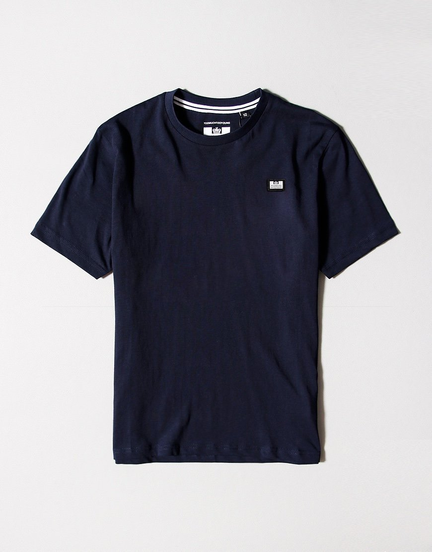 Weekend Offender Kids Badge T-Shirt Navy