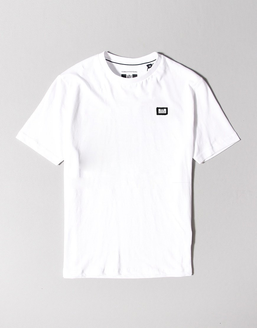 Weekend Offender Kids Badge T-Shirt White