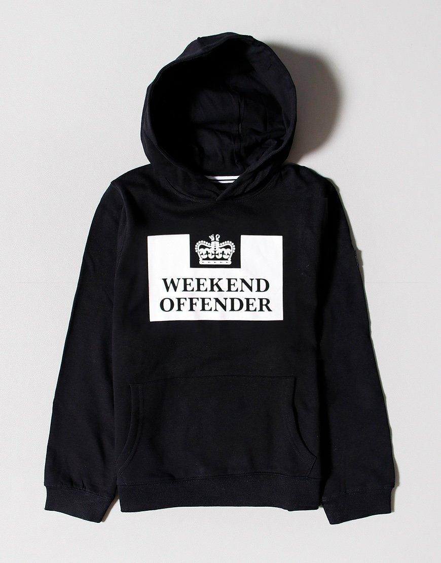 Weekend Offender Kids HM Service Hoodie Black