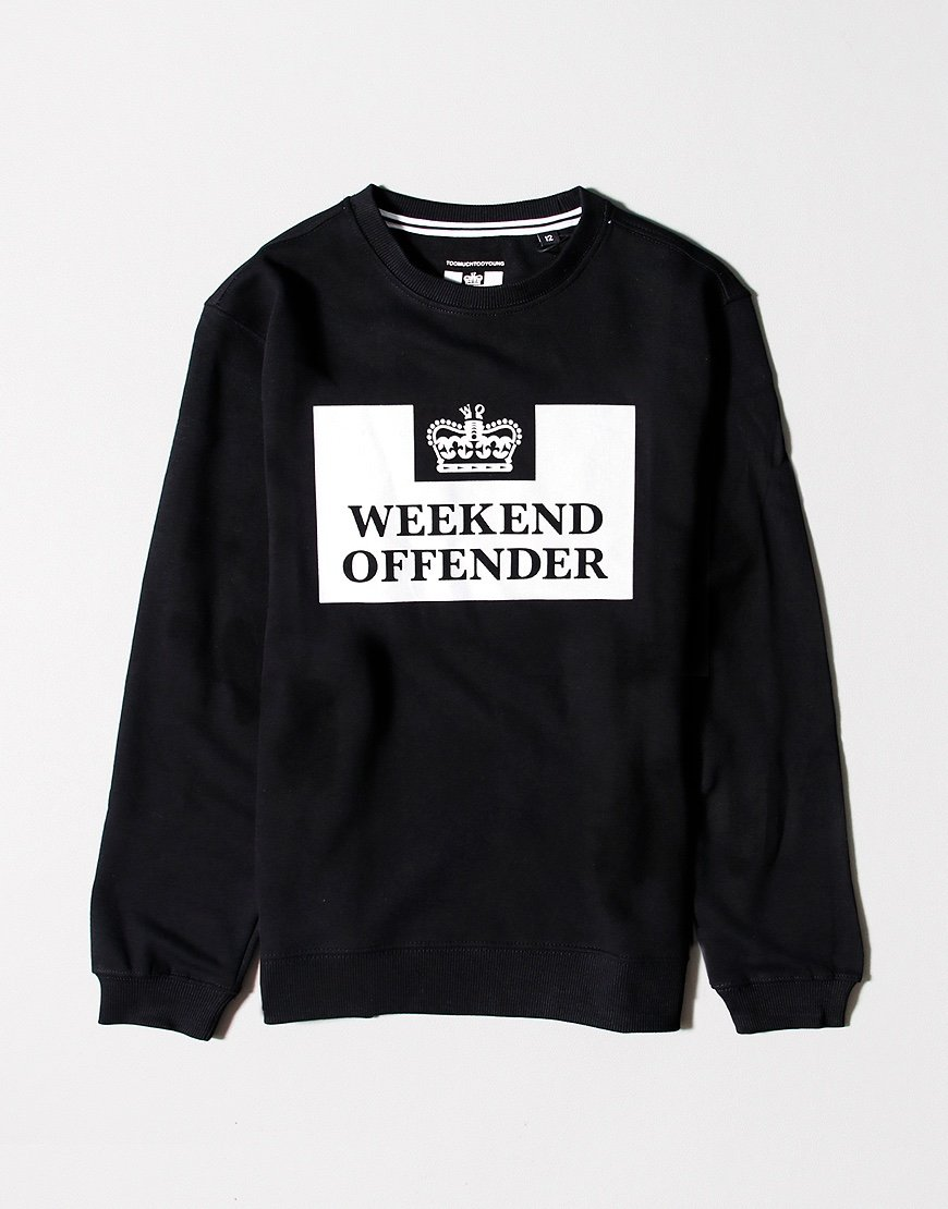 Weekend Offender Kids Penitentiary Sweat Black