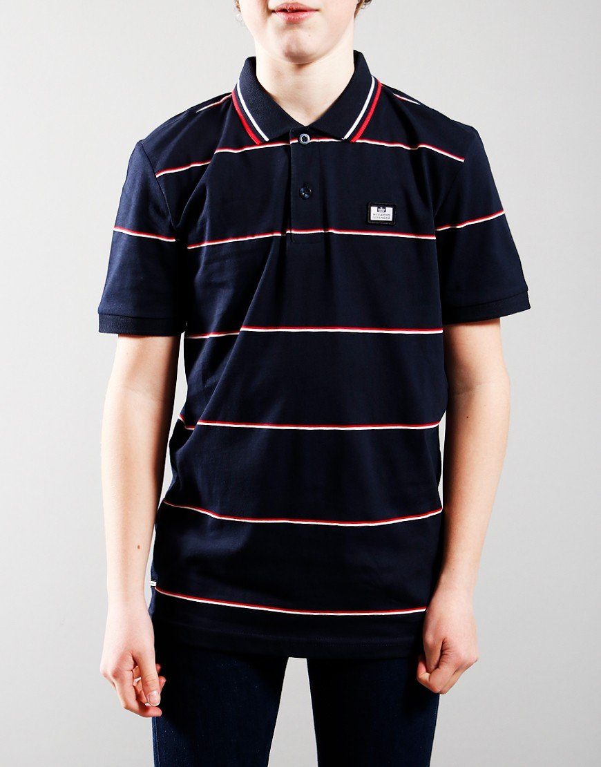 Weekend Offender Kids Pittsburgh Polo Navy