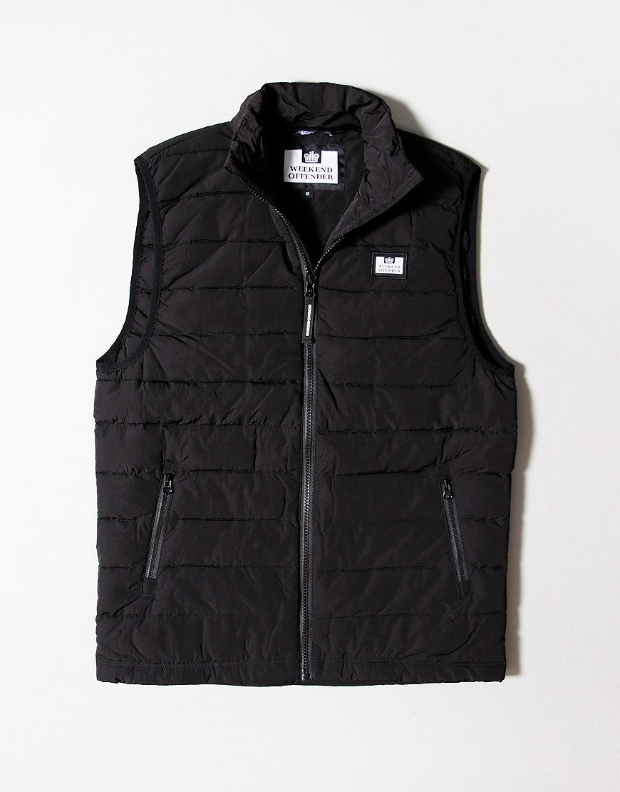 Weekend Offender Kids Gacha Gilet Black