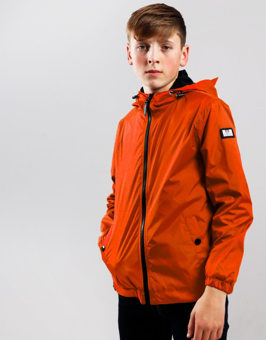 Weekend Offender Kids Technician Jacket Pumpkin