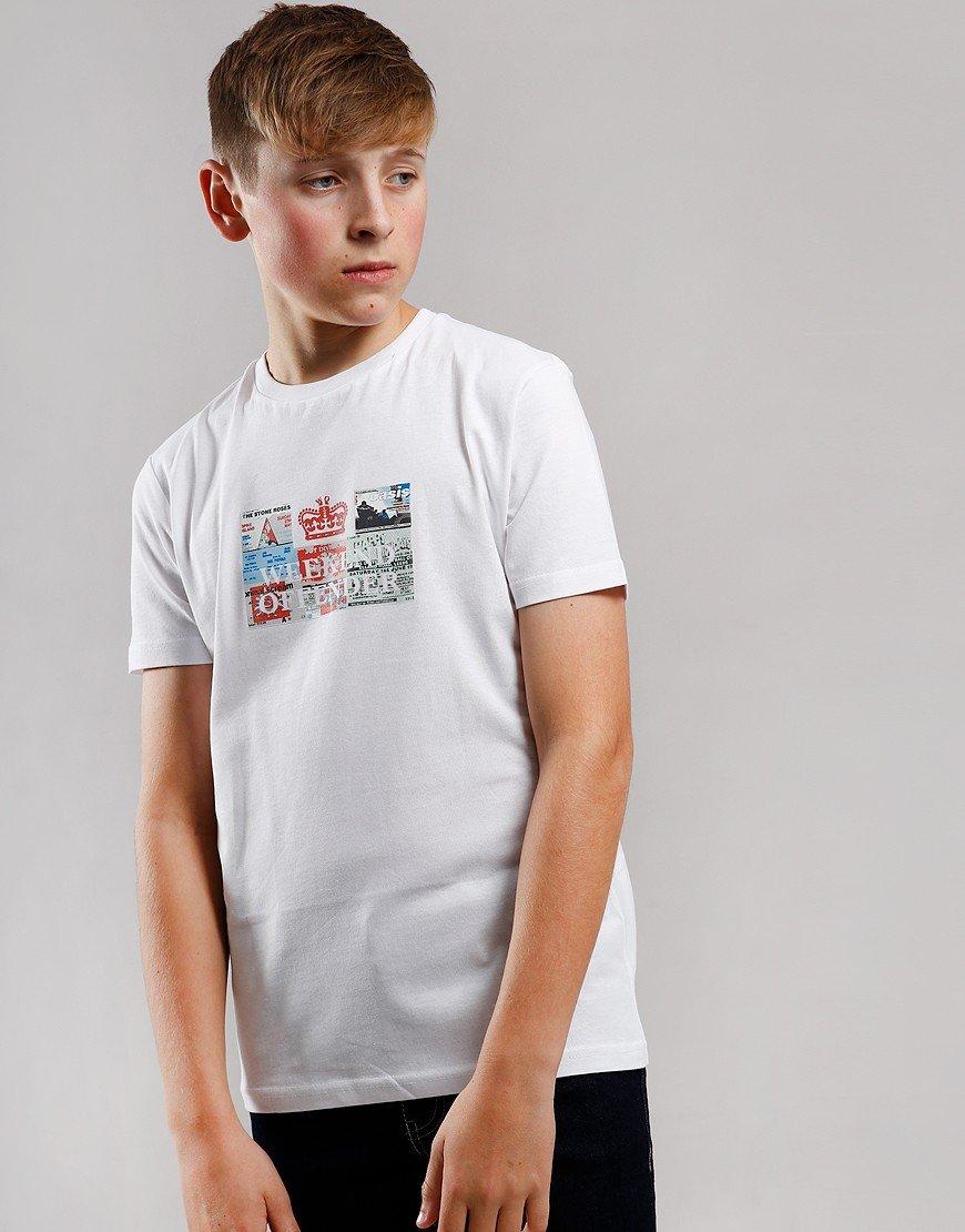 Weekend Offender Kids Tickets T-Shirt White