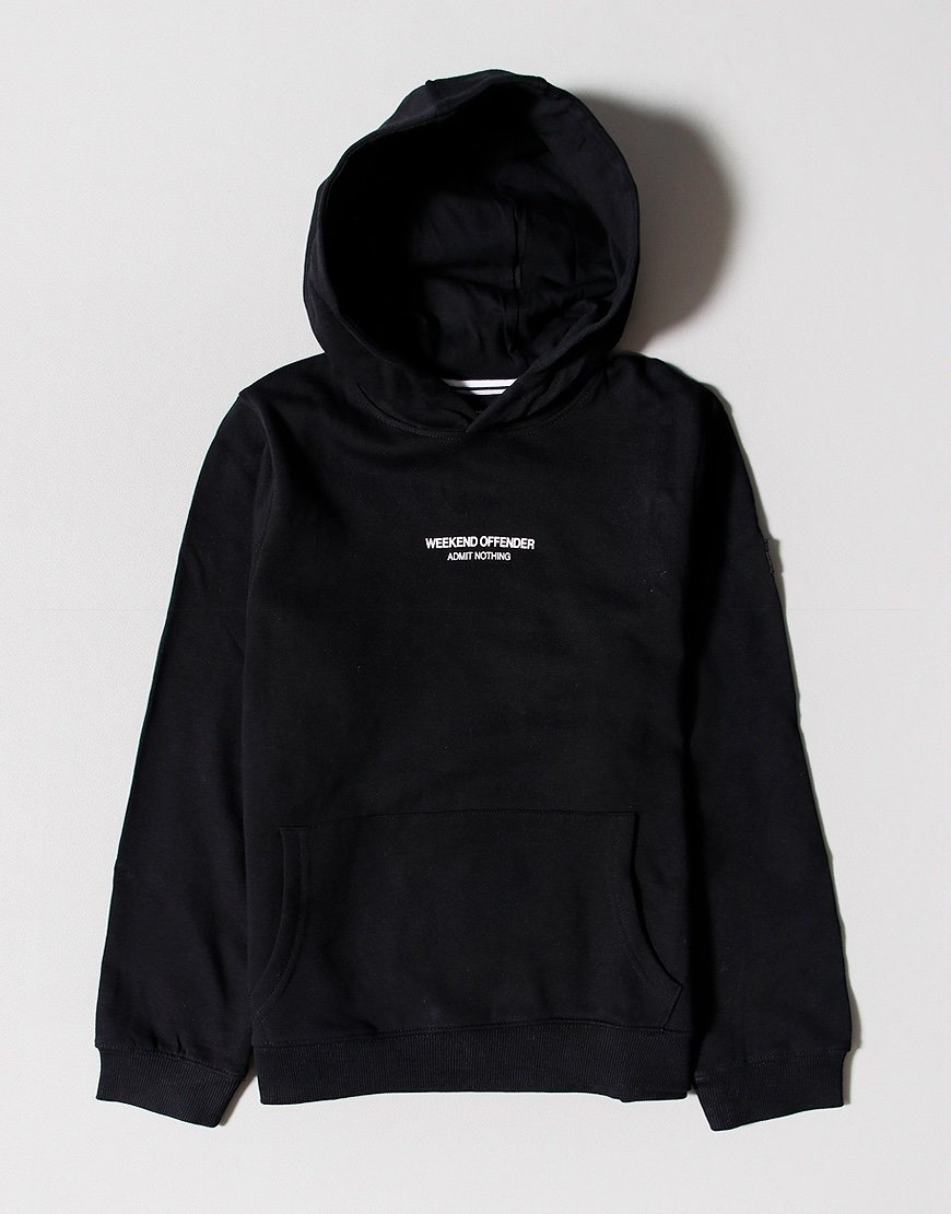 Weekend Offender Kids WO Hoody Black
