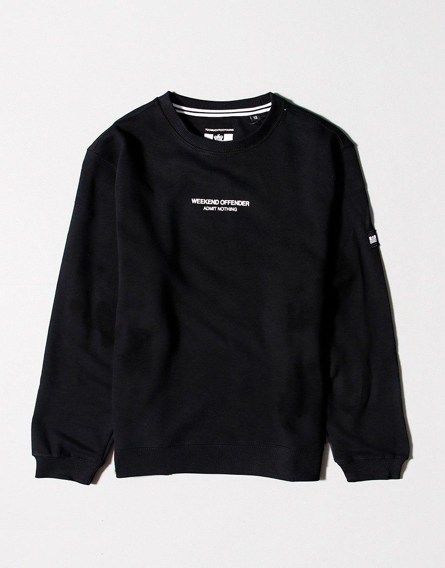 Weekend Offender Kids WO Sweat Black