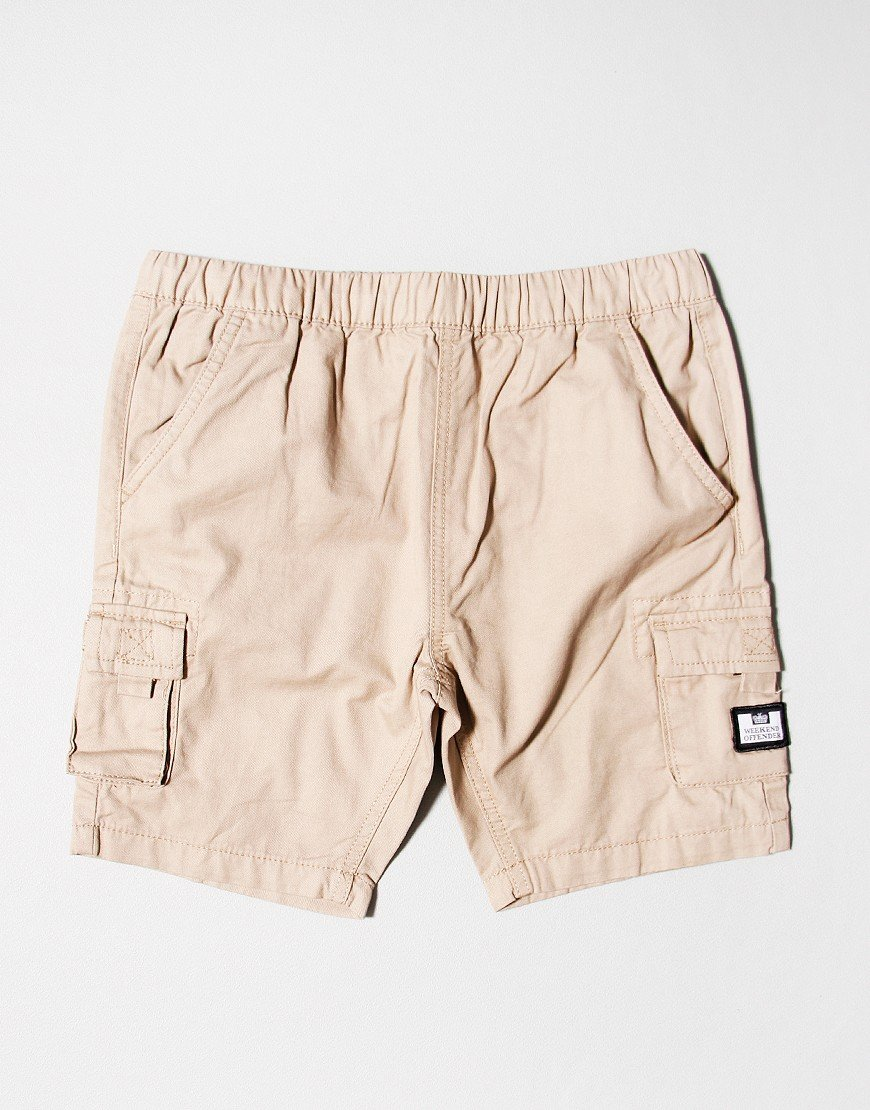 Weekend Offender Kids Mascia Shorts Stone