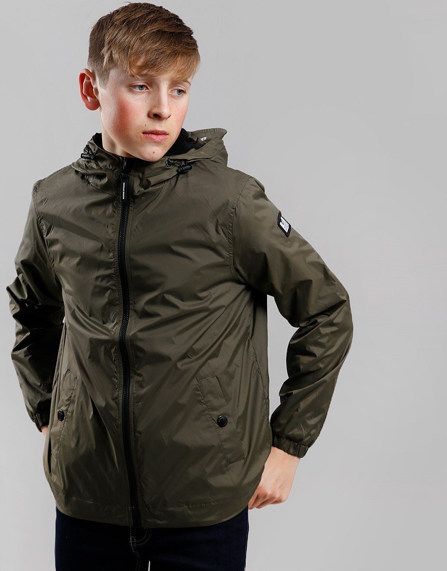Weekend Offender Kids Technician Jacket Army