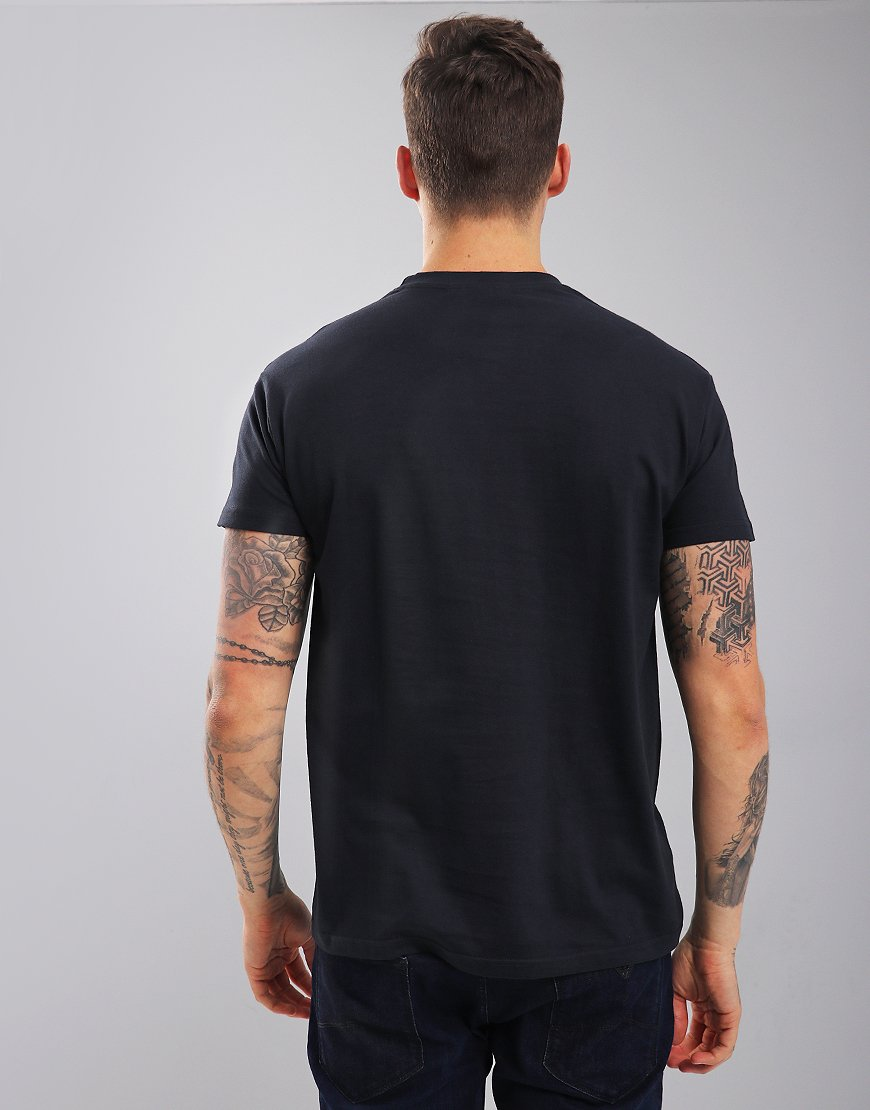 Eighties Casuals Stoke Vegas T-Shirt Navy