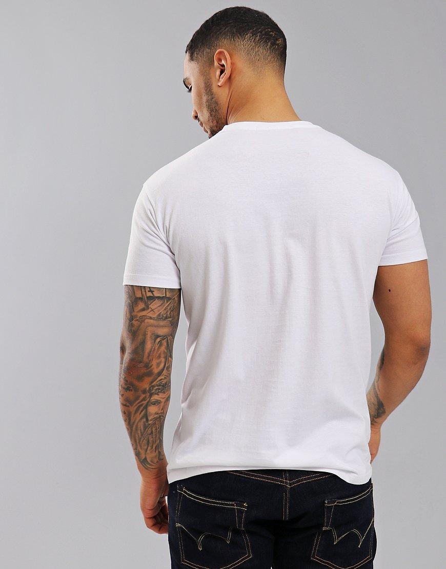 Eighties Casuals Stoke Vegas T-Shirt White