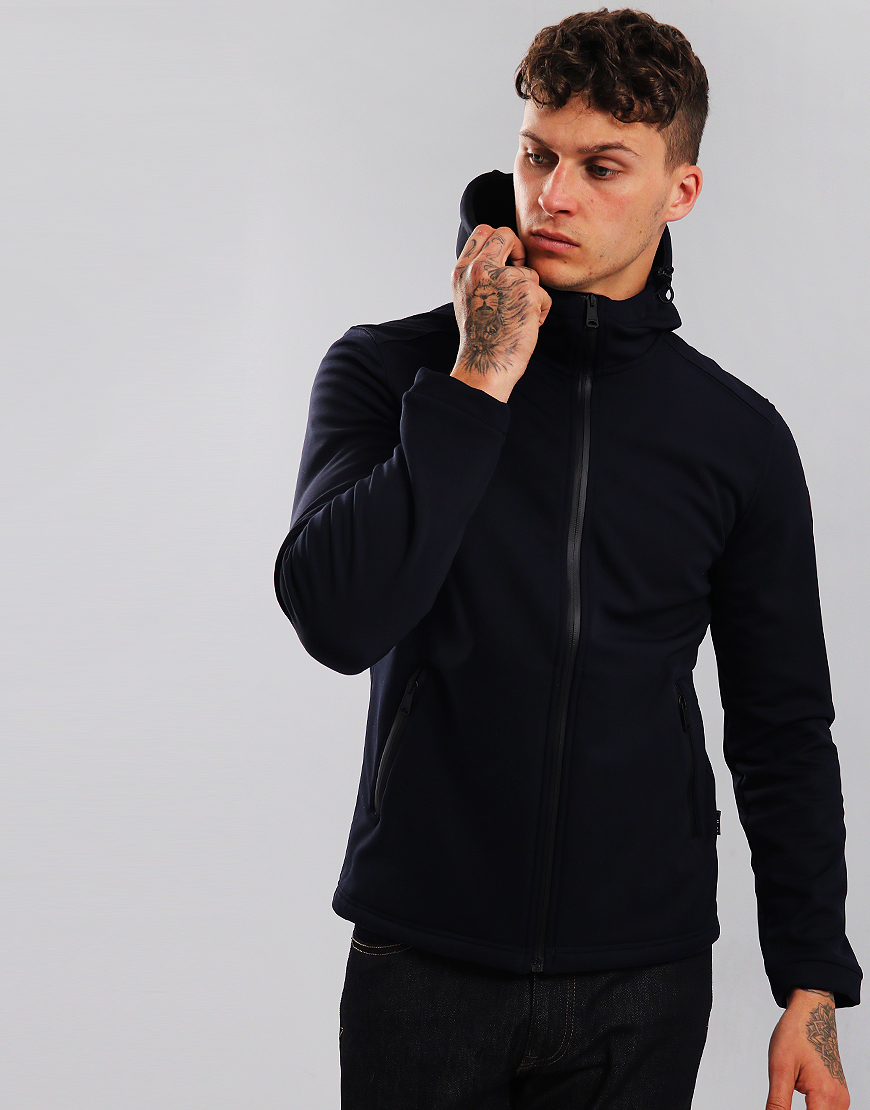 Napapijri Addison Soft Shell Jacket  Blu Marine