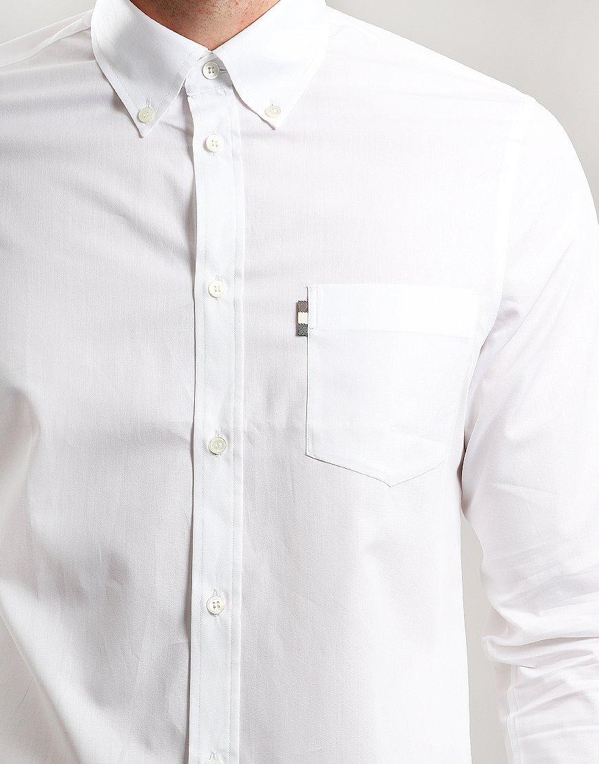 58d709d2cf2 Aquascutum Casper Poplin Shirt White