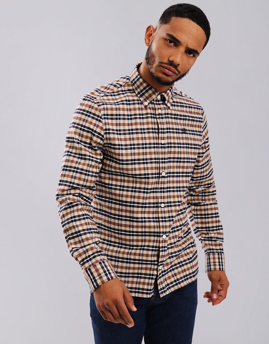 Aquascutum Lionel Long Sleeve Shirt Tartan