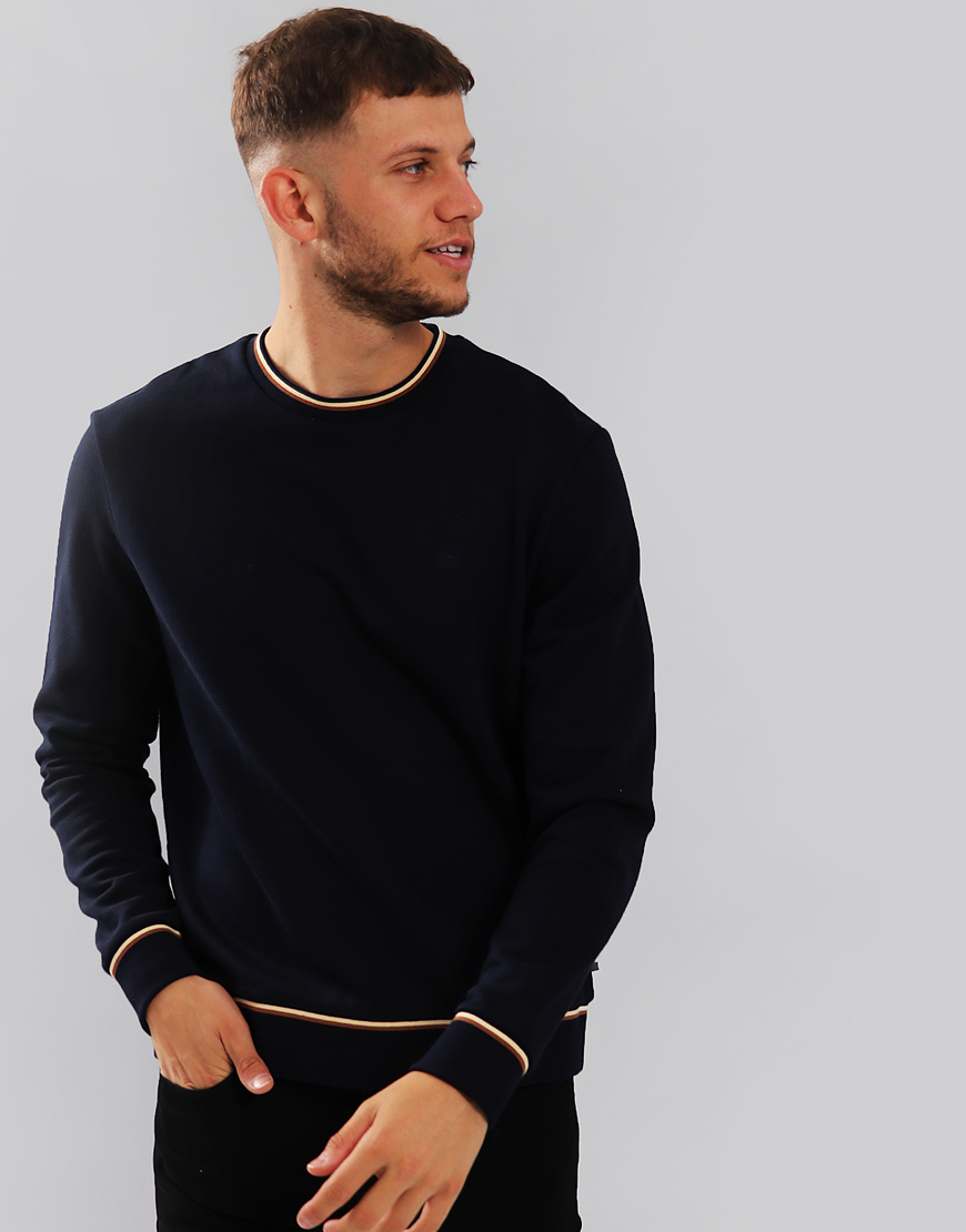 Aquascutum Wallace Sweat Navy