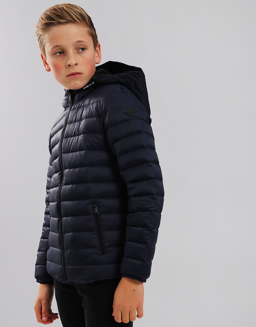 Armani Junior Down Jacket Blue