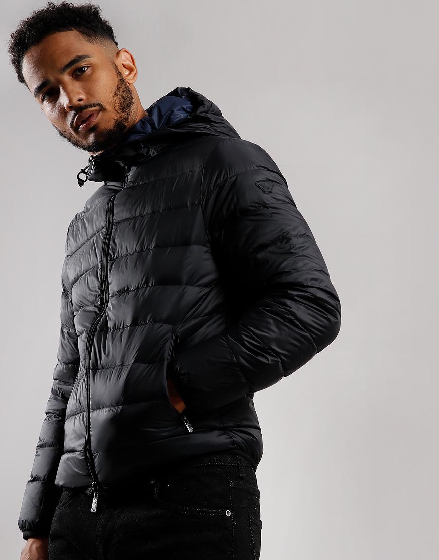 Emporio Armani Down Jacket Black
