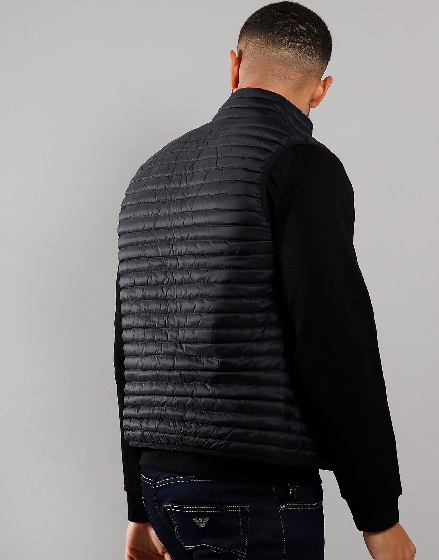 Emporio Armani Quilted Gilet Black