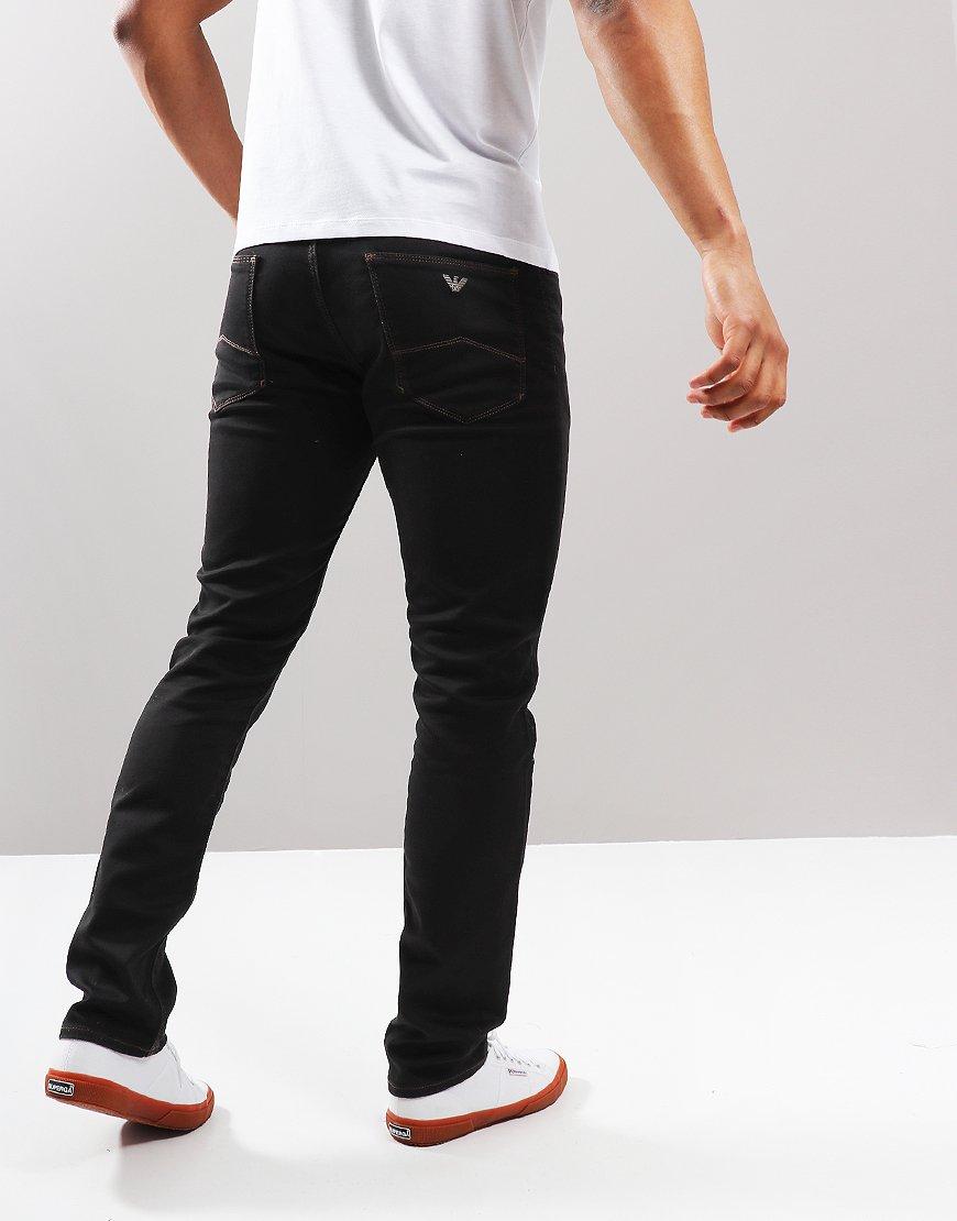 Emporio Armani J06 1D0PZ Slim Jeans Black