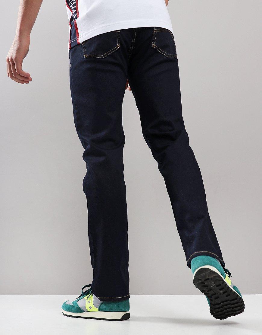 Emporio Armani J21 1V0LZ Regular Fit Jeans Denim Blue