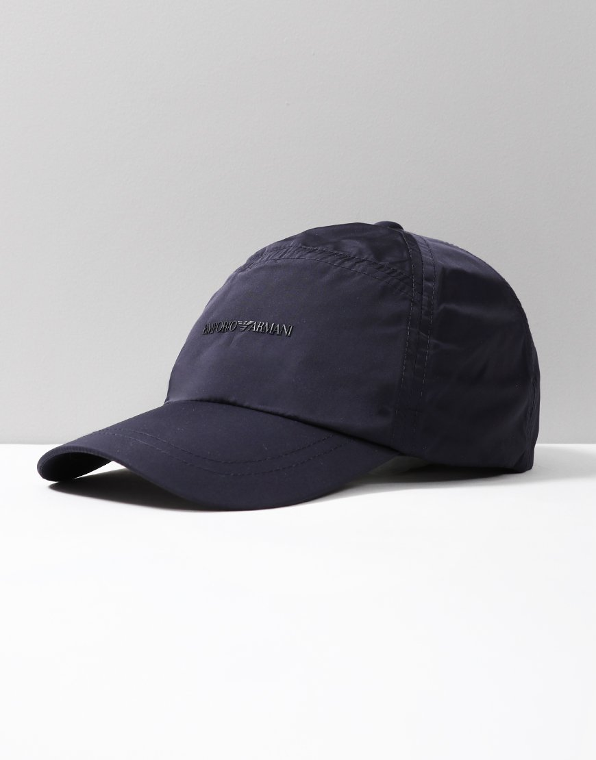 Armani Junior Baseball Cap Navy