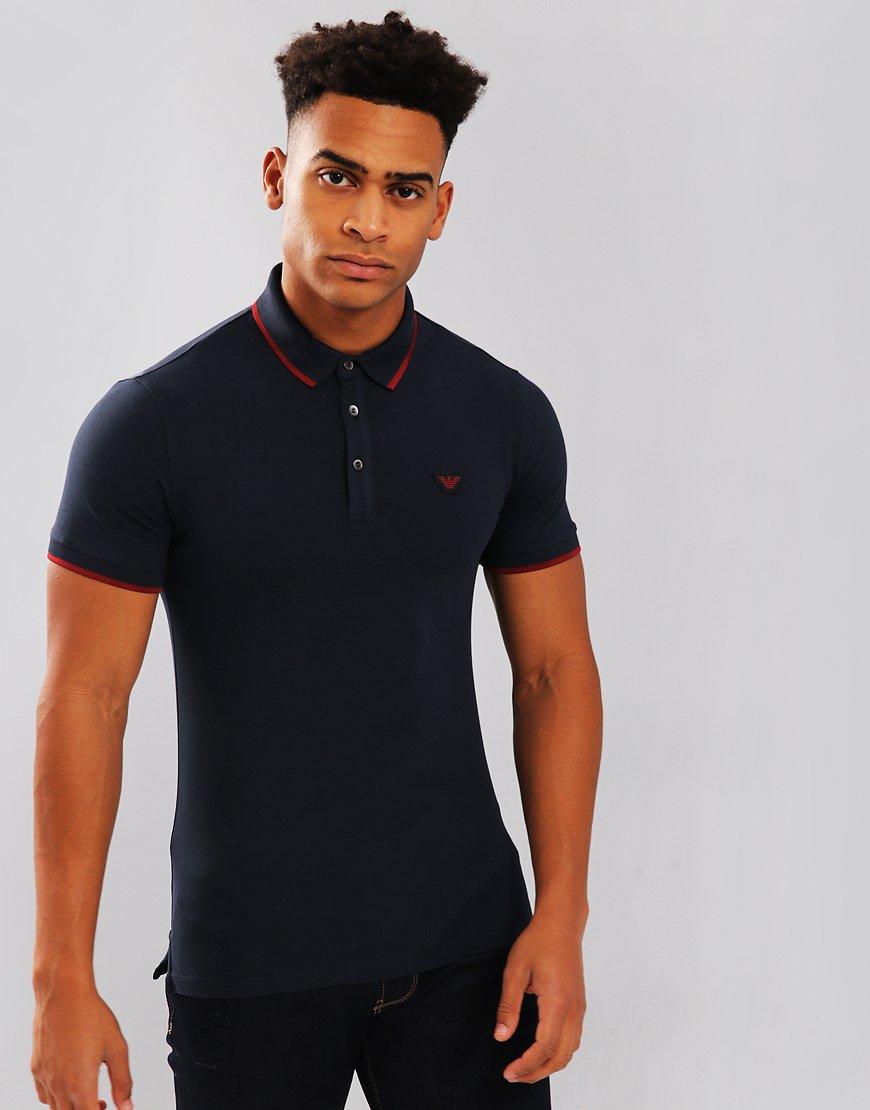 Emporio Armani Polo Shirt Navy