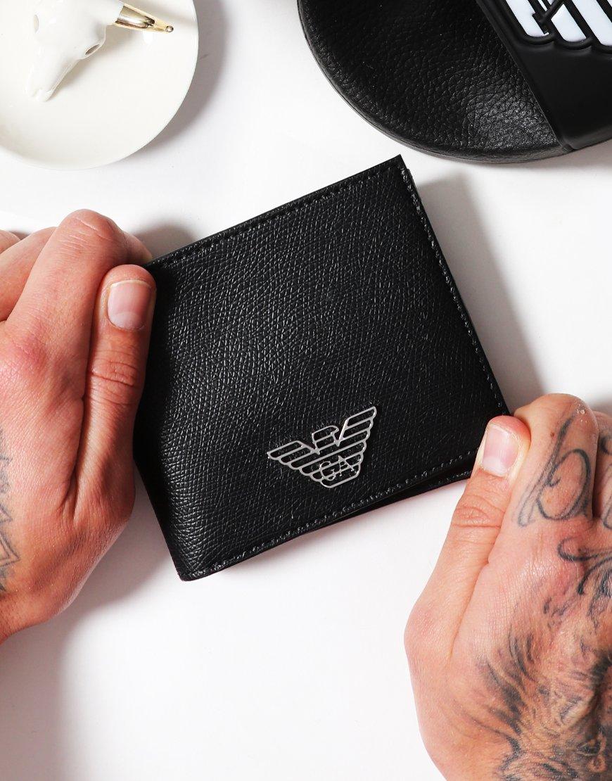 Emporio Armani PVC Wallet Black