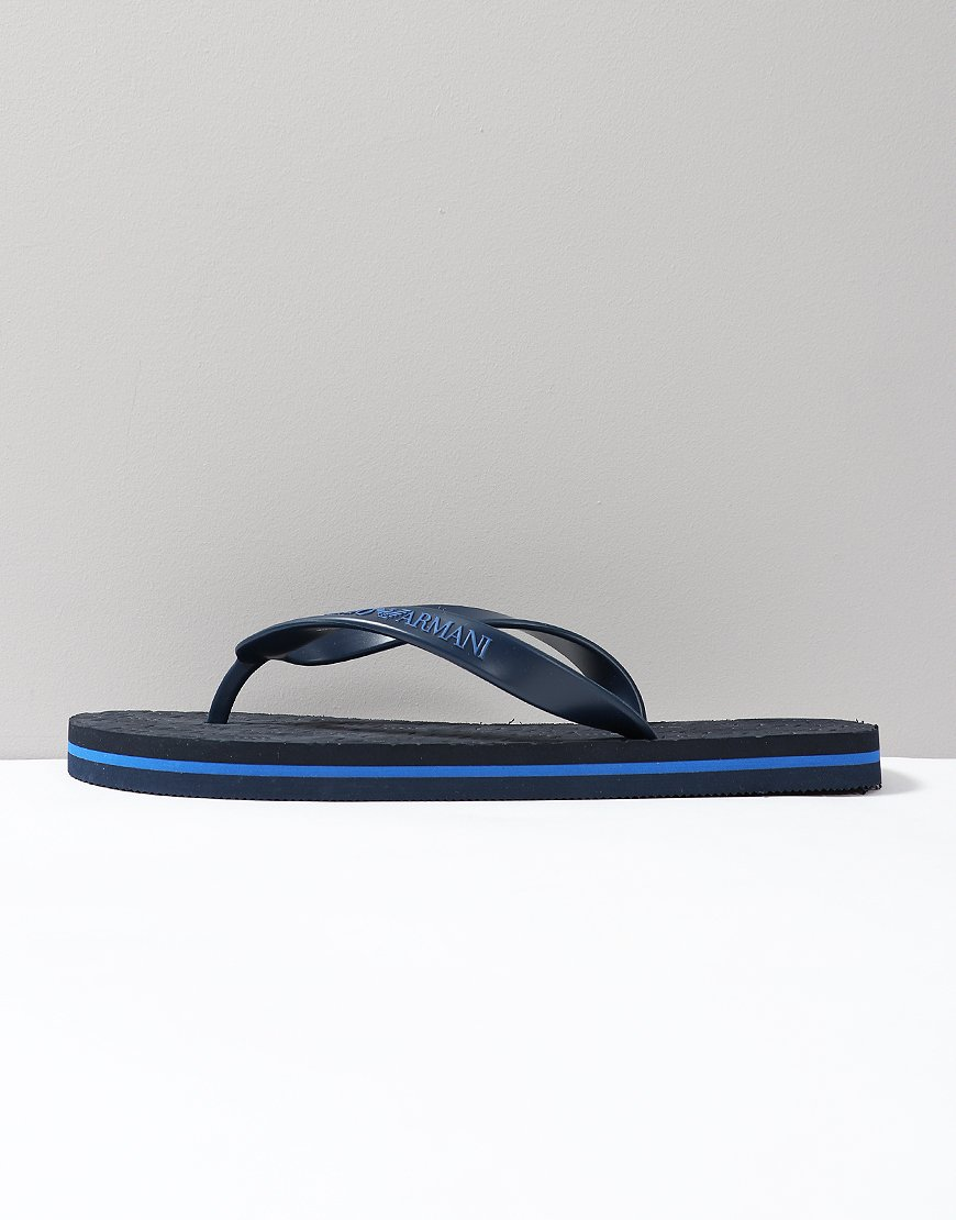 77f23a7d5 Emporio Armani Sandals Black Iris - Terraces Menswear