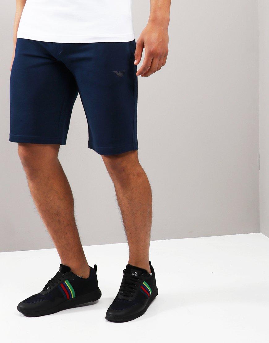 Emporio Armani Track Shorts Blue
