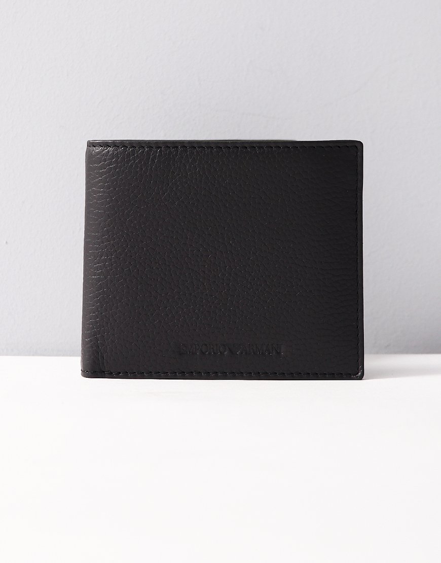 Armani Billfold Wallet Black
