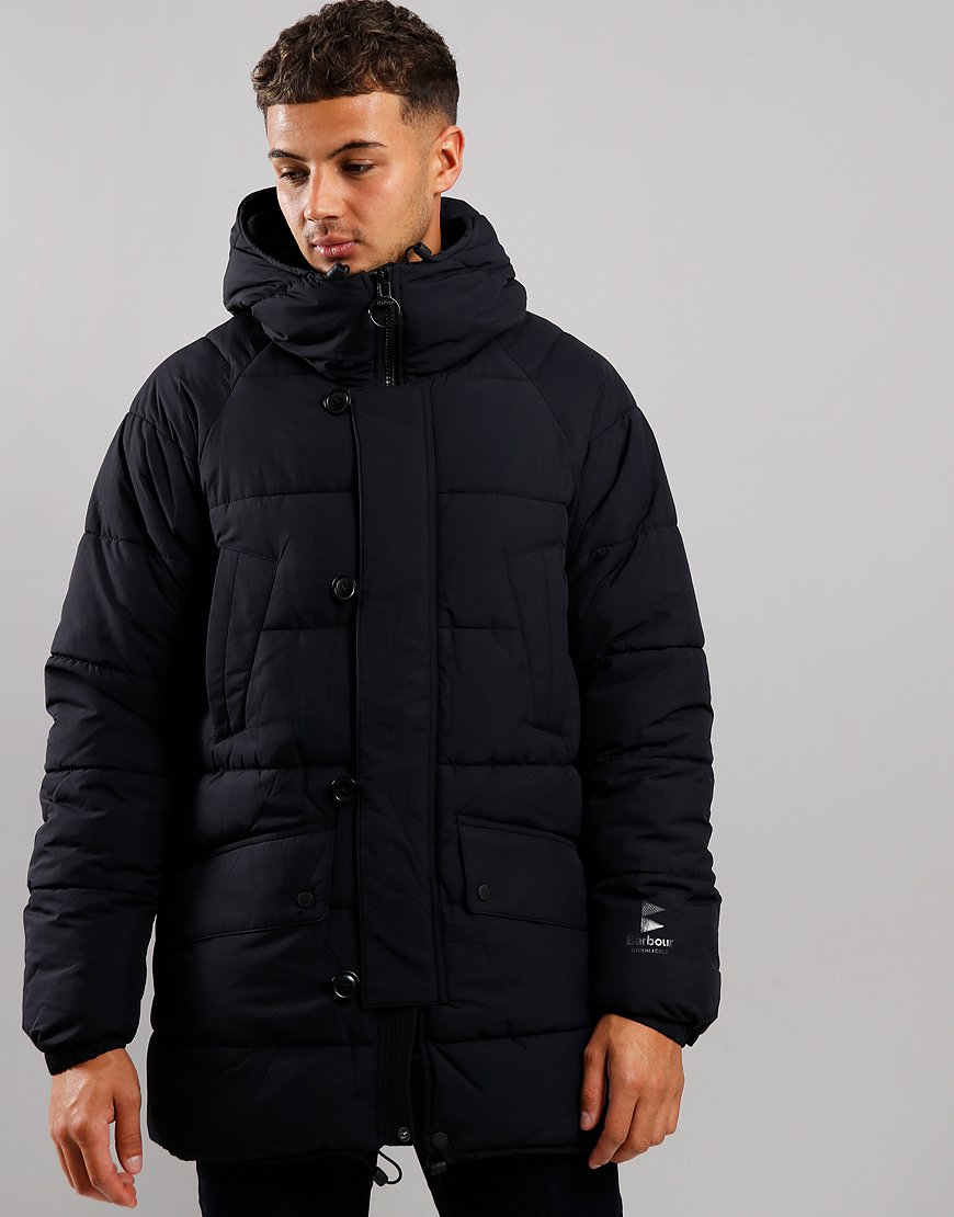 Barbour Alpine Quilted Jacket Black