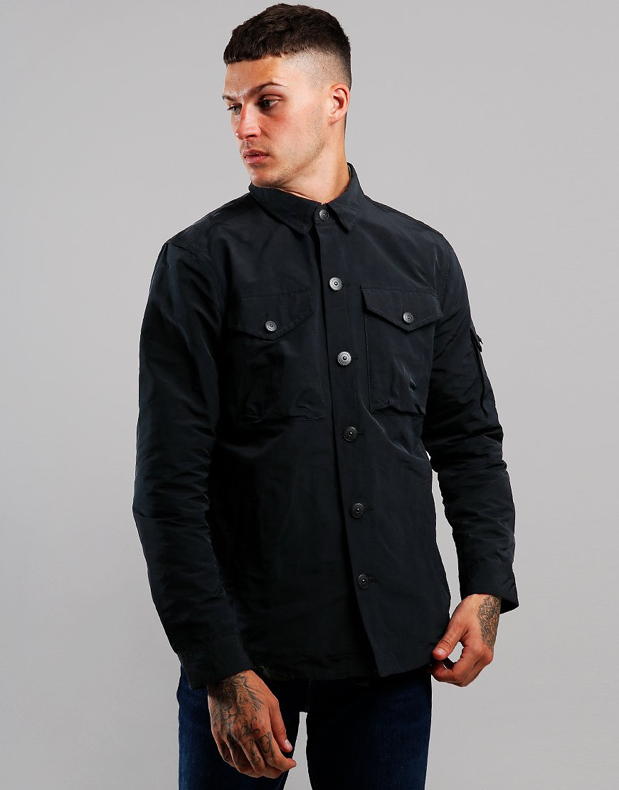 Barbour Beacon Askern Overshirt Black