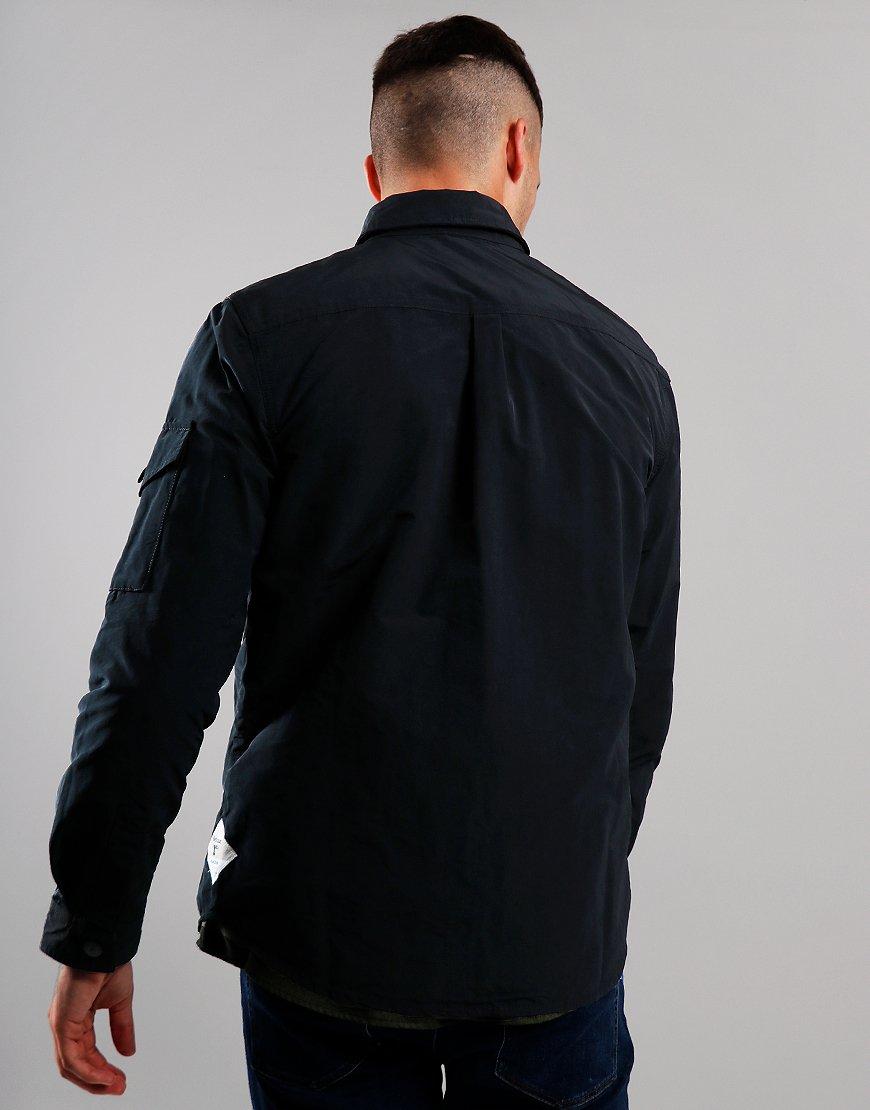 Barbour Beacon Askern Overshirt Black