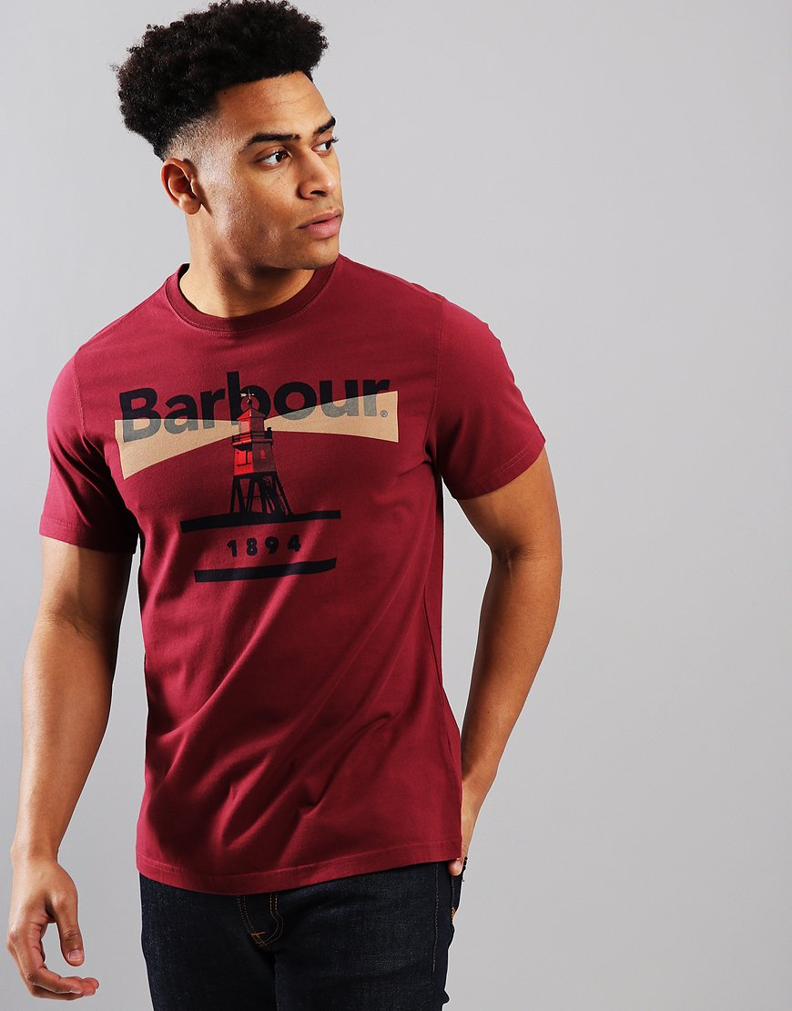 Barbour Beacon 94 T-Shirt Ruby
