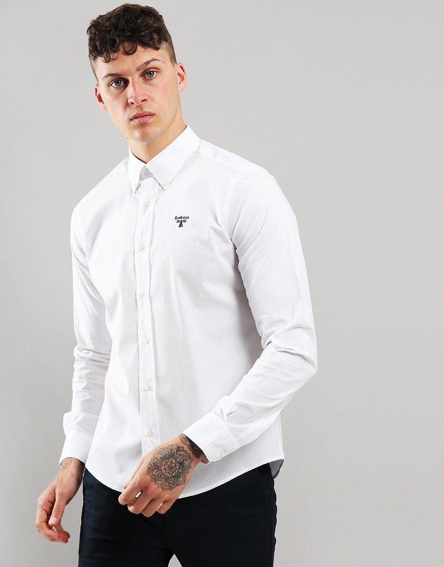 Barbour Beacon Abbot Shirt White