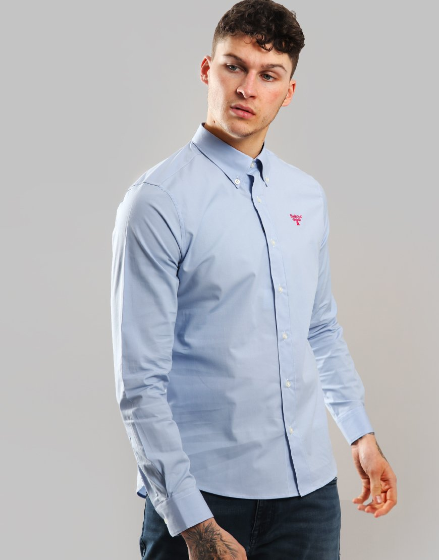 Barbour Beacon Abbot Shirt Pale Blue