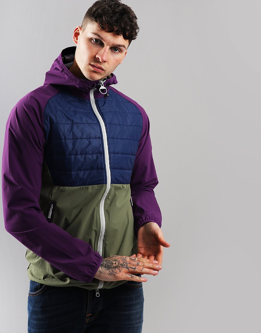 Barbour Beacon Gable Casual Jacket Plum