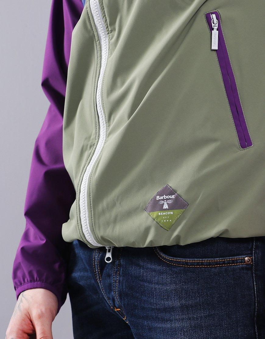 Barbour Beacon Gable Casual Jacket Plum