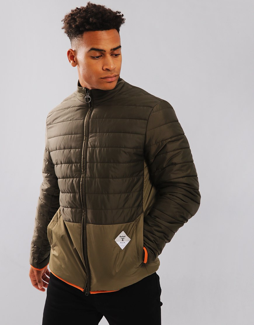 Barbour Beacon Glenridding Quilt Olive