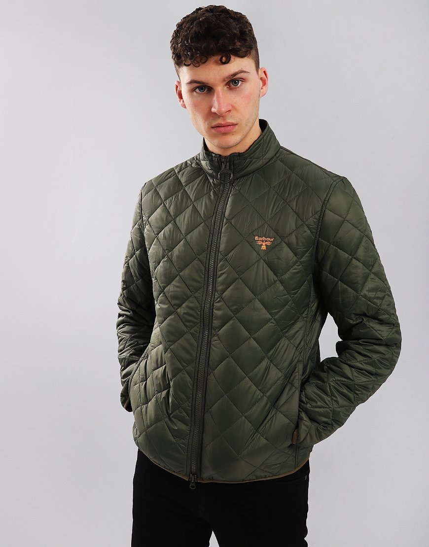 Barbour Beacon Grasmoor Quilted Jacket Olive