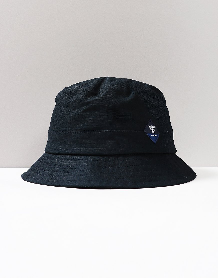 Barbour Beacon Gully Bucket Hat Navy