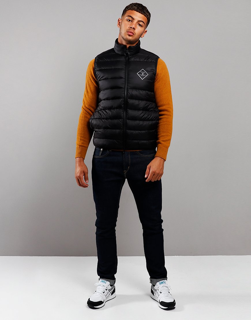 Barbour Beacon Harter Quilted Gilet Black