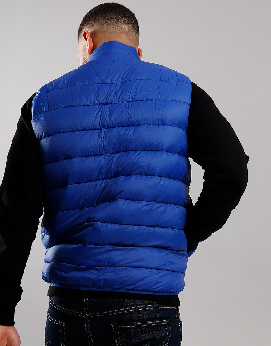 Barbour Beacon Harter Quilted Gilet Charge Blue