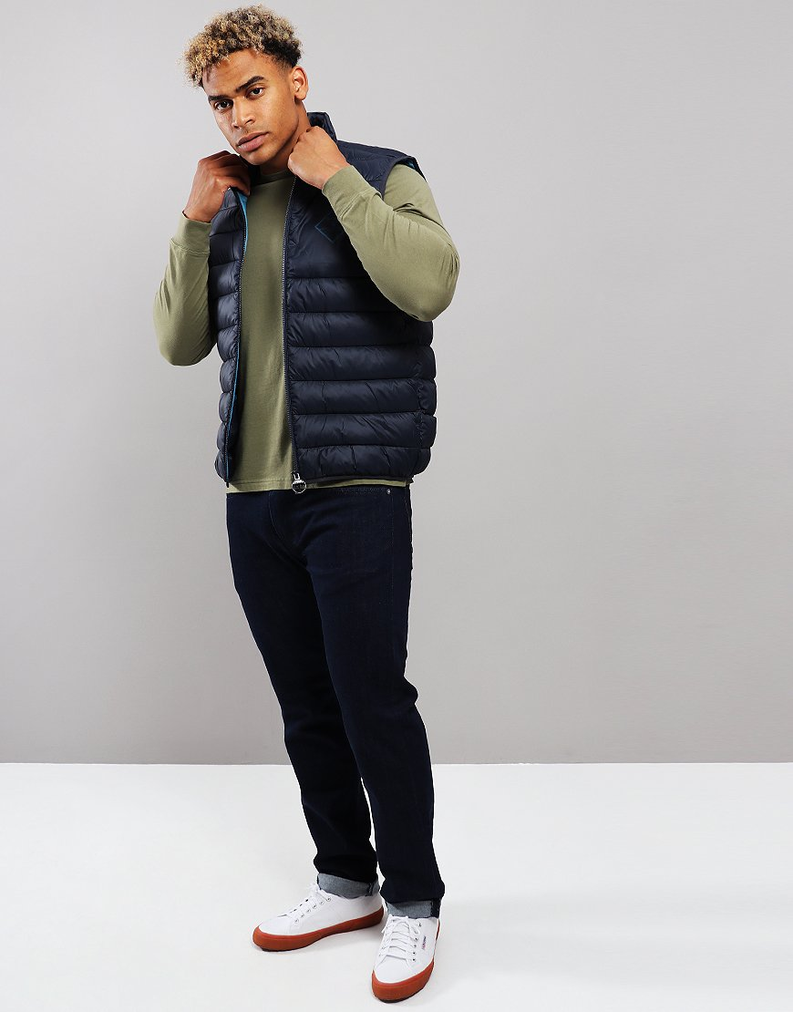 Barbour Beacon Harter Quilted Gilet Navy