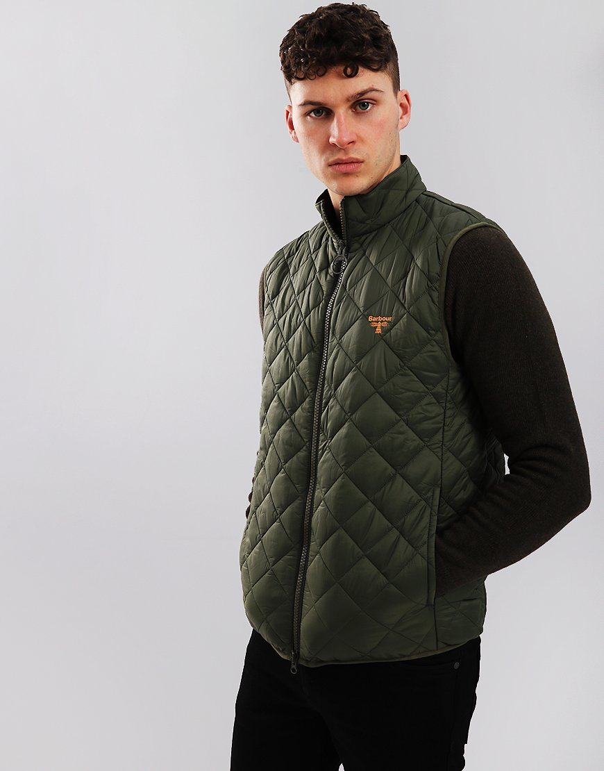 Barbour Beacon Haystacks Quilted Gilet Olive