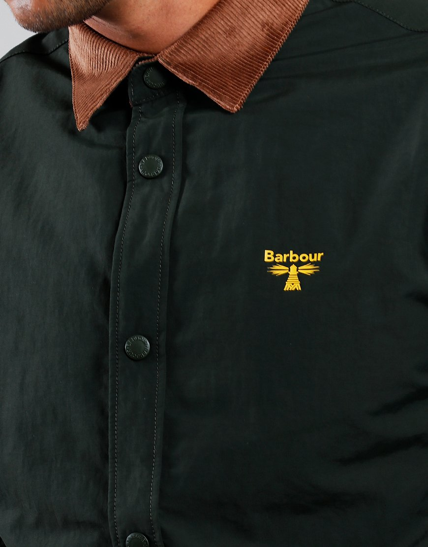 Barbour Beacon Healey Overshirt Forest