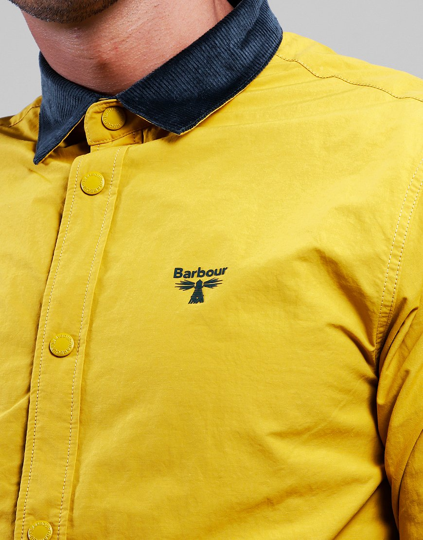 Barbour Beacon Healey Overshirt Gold
