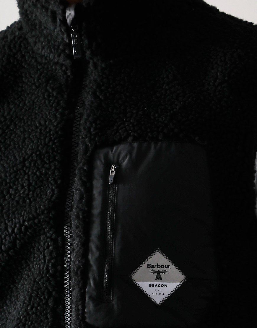Barbour Beacon Lagg Fleece Gilet Black