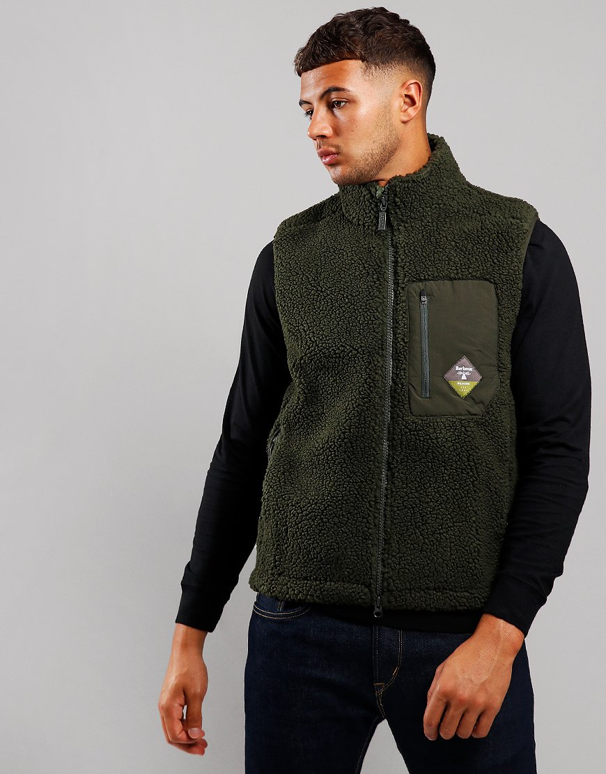 Barbour Beacon Lagg Fleece Gilet Sage